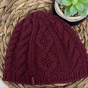 PISTIL Riley Cable Knit Lined Winter Beanie